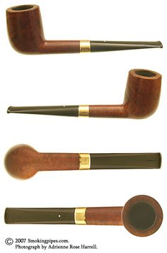 Dunhill Patent Root with 14K Gold Band (4) (R) (1950)