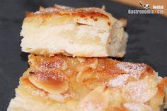 Receta de Tarta de queso y manzana