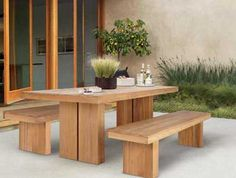 Outdoor Dining Table Design on http://www.trendsi.com/