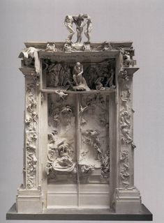 Auguste Rodin Expressionist 19th century - Gates of Hell