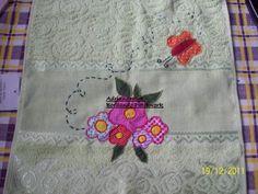 toalha de mão aplicação