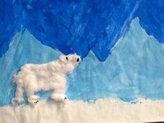 Winterlandschap schilderen met wit, blauw en zwart: mengen!