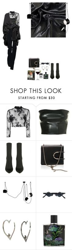 """Untitled #171"" by liliakorobkina ❤ liked on Polyvore featuring Glamorous, Thierry Mugler, Flos, Kuboraum, Nest and Dot & Bo"