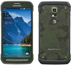 Samsung Galaxy Active Smartphone Camo Green - AT&T: Great Samsung Galaxy S5, Running In The Rain, Cell Phone Reviews, Mobile Price, Boost Mobile, Samsung Mobile, Galaxies, Smartphone, Camo