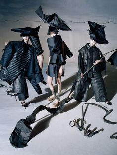 Xiao Wen Ju, Fei Fei Sun & Sang Woo Kim By Tim Walker For Vogue China December 2014 — Anne of Carversville