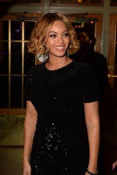 Beyoncé in Topshop. [Photo by Steve Eichner]
