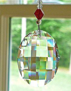 Echo Short  6 Crystal Suncatcher Swarovski by HeartstringsByMorgan, $21.00