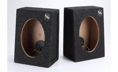 Sound Ordnance™ Bass Bunker Pair of sealed truck-style enclosures (Model at Crutchfield 4x4 Ford Ranger, Headphone Amp, Subwoofer Box, Car Audio Systems, Audio Sound, Hifi Audio, Bunker, In Ear Headphones, Bass