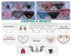 ITH-+Stickdatei++♥Painties+&+Hearts♥++von+SewDreams+-+Nähträume+zum+Kaufen+auf+DaWanda.com