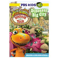 This special Dinosaur Train DVD includes 8 episodes from the popular TV show.
