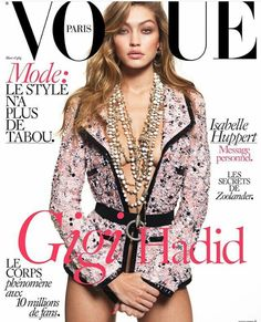 Gigi Hadid for VOGUE Paris