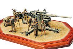 Tamiya German 88mm Gun Flak 36 1/35th Scale Plastic Model Kit 35283 | Reduced to £23.99 While Stocks Last - www.alwayshobbies.com