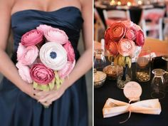 paper centerpieces wedding | Do It Yourself Weddings: Paper? Did You Say Paper?