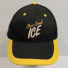 Clear Creek Beer Hat Cap Strapback Mountain Crest Brewing Company #ClearCreekBeer #BaseballCap