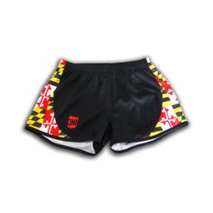 Maryland Flag / Running Shorts (Women) - My bestie got me MD flag shorts, but two pairs is not too much :-)
