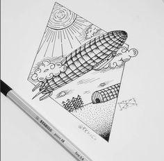 Quando o sketch sozinho já é uma obra de arte!   (by Carlos - insta: @kkhxcx)