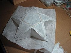 How to Make a Star Paper Lantern | eHow.com
