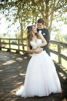 Courtney Cason from QVC.  Love her wedding dress!