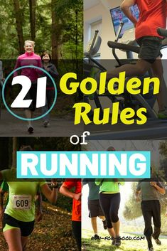 Here are some of the golden rules of running to help you avoid common running mistakes and continue running for years to come. Running Routine, Running On Treadmill, Running Workouts, Running Tips, Running Injuries, Trail Running, Running For Beginners, How To Start Running, How To Run Faster