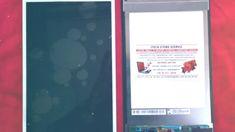 Tablet érintő kijelző javítás, törött üveg csere LG V500. LCD screen rep...