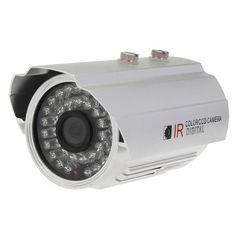 1/4 CMOS 139+8510 IR-CUT 800TVL Waterproof Security Camera L1886DH
