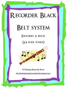 FREEBIE  My black belt system for teaching recorder. All of my students at my low income school earn a black belt and many go beyond. Read about how I set up my system and get it FREE.