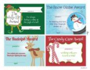 Make your recognition more merry with our Holiday Certificates! Download, print, cut, and deliver!