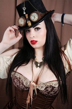 Lady Burlesque - Steampunk girl - Community - Google+