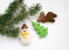 Manualidades para Navidad: ¡utiliza fieltro! | Aprender manualidades es facilisimo.com