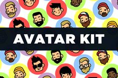 F.U.N Avatar Creation Kit  by SproutBox on @creativemarket