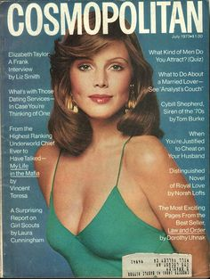 July 1973 cover with Ann Charlotte