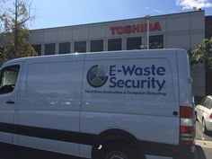 E-Waste Security worked with Toshiba Logistics America, Inc. to securely remove confidential information from old laptops.