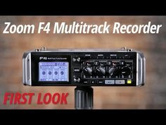 Zoom F4 MultiTrack Field Recorder | Zoom