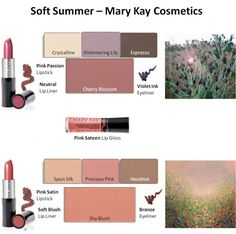 Mary Kay - Soft Summer Looks #1 and #2