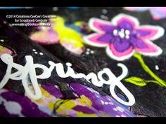 """journal d'artiste """"hello spring"""" art journaling - YouTube"""