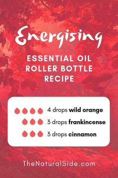 Searching for easy ways to use essential oils? In this post, you will find 15 beginners inspired essential oil roller bottle recipes which is one of the easiest ways to start using essential oils. Essential Oils Energy, Oils For Energy, Essential Oils For Colds, Essential Oils Guide, Cinnamon Essential Oil, Essential Oil Diffuser Blends, Essential Oil Uses, Homemade Essential Oils, Cinnamon Oil