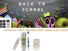 Besides learning school basics, remember that children need proper oral hygiene products and tools for optimum health.