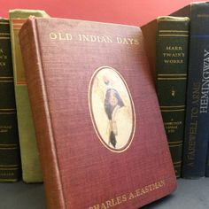 Old Indian Days  Rare 1st Edition Book by BlackFedoraArtnStuff, $100.00