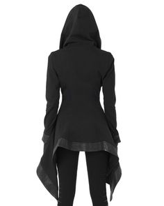 Copy of Crocodile Coat with plain back (no leather detail) Unique Fashion, Daily Fashion, Fashion Design, Cool Outfits, Casual Outfits, Fashion Outfits, My Unique Style, My Style, Mode Cyberpunk