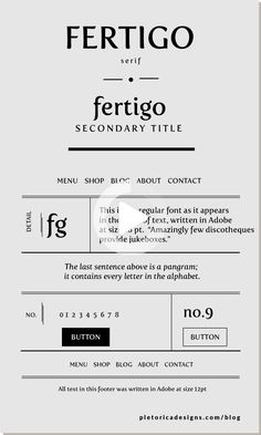Fertigo immediately reminds us of Irish butter because of Kerrygold's unique logo. The butter producer used a similar font. This serifed typeface is perfect for brand packaging and it's versatile enough to employ in web design. #webdesign #webdesign2020 Typography Layout, Lettering Design, Typography Inspiration, Web Design Inspiration, Minimalist Font, Food Web Design, Commercial Fonts, Brand Fonts, Unique Logo