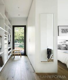 Oct 2019 - Discovering an answer in your storage objects can be pretty easy, due to the superb design of an in-built wardrobe. The in-built wardrobe is just [. Walk In Closet Design, Bedroom Closet Design, Closet Designs, Master Room, Small Room Bedroom, Home Bedroom, Wardrobe Room, Dressing Room Design, Suites