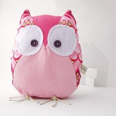Magda the owl Handmade in Italy by contemori on Etsy