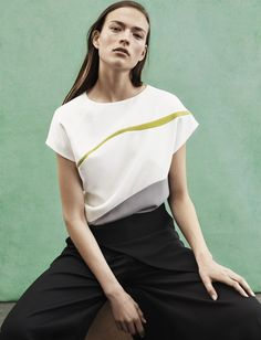 Narciso Rodriguez Resort 2016 Look 8