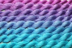 Gradient Yarn Set Malberry  silk  2 ply    in by WoolSilkLace
