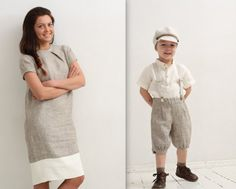 Hey, I found this really awesome Etsy listing at https://www.etsy.com/listing/219140910/mom-an-son-matching-outfit-womens-linen