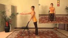 Energizing Chair Yoga is for Everyone! Beginners, Seniors and the Physically Challenged