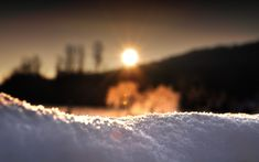 Winter is like love. Painful, but it's beautiful...