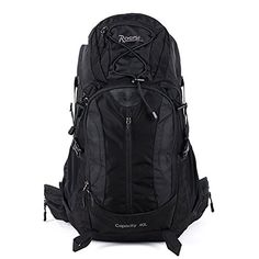 ALUSOutdoor waterproof hiking bag  40L recreational sports men and women on footblack 40L >>> Check out this great product.