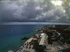 ¿doble horizonte? Cozumel, Quintana Roo.