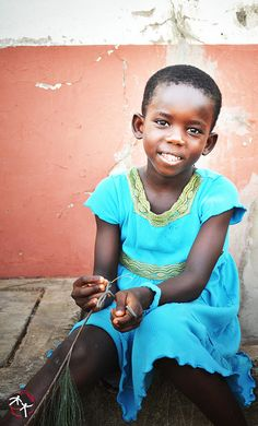 Ghana. Beautiful child